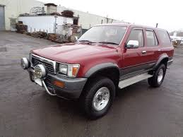 Toyota Surf Turbo Diesel Suv Red For Sale