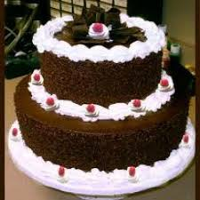 Best 2 Tier Black Forest Cake At Low Price Egg Less
