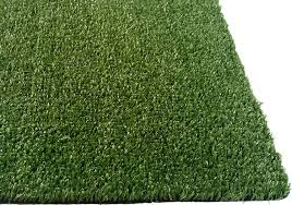 strong artificial turf rug com pzg grass w drainage holes rubber