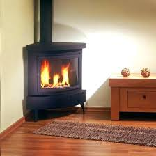 freestanding gas stove fireplace. Marvelous Freestanding Gas Stove Fireplace Small Image Of Corner With Table