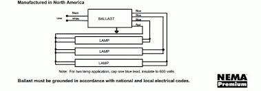 wiring diagram for fluorescent ballast how to wire a 2 lamp new ballast does not have yellow wires at Wiring A Ballast Fluorescent Diagram