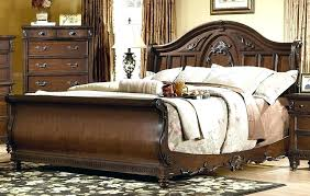 Unique King Bedroom Sets Queen Sleigh Bed Bedroom Set Unique 4 Piece ...