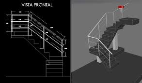 Design every detail in autocad®, the powerful 2d/3d cad software. Staircase 3d Dwg Model For Autocad Designs Cad