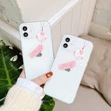 Trung Quốc Chúc Chuông Gió Ốp Lưng Điện Thoại Iphone 12 11 Pro Max 7 8 Plus  XR X XS MAX Bao trong Suốt Tpu Fundas Mềm Mại Bảo Vệ Coque Lưng