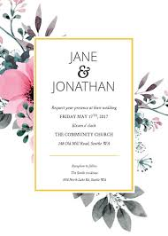 Sample Invitation Cards 16 Free Invitation Card Templates Examples Lucidpress