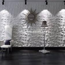 Muur Stopverf Ontwerpen Gemakkelijk Installatie Bamboevezel 3d Board