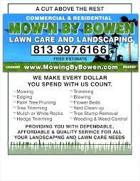 Lawn Care Flyer Template Word Garden Ideas Yourweek Landscaping Backyard Fence Flyers Free