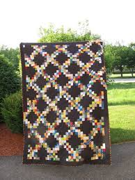 Scrapendipity Designs » Scrappy Irish Chain Quilt Pattern (Tutorial) & I only had black fabric at the time, but I love how it looks and it's very  different from other Irish Chains I have seen. I really should take the  time to ... Adamdwight.com
