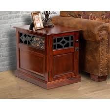 small dog furniture. American Furniture Mahogany-finished Real Wood Small Dog Crate And End Table - Free Shipping Today Overstock 25434731