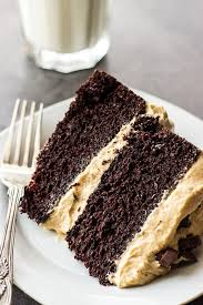 Chocolate Layer Cake With Creamy Peanut Butter Frosting The Beach
