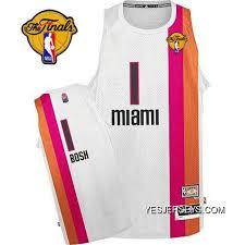 Chris Bosh Authentic In White Adidas Nba Finals Miami Heat