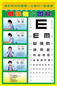 Eye Chart Poster Free China Free Eye Exercises China Free Eye Exercises Shopping