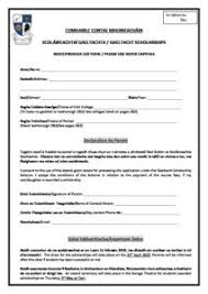 Scholarship Aplication Form Gaeltacht Scholarship Application Form 2019 Corporate Services