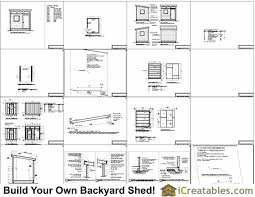 Office Shed Plans 8x10 Office Shed Plans Studio B
