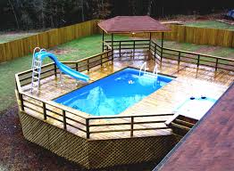 intex above ground pool decks. Modren Intex Top Inground Pool Decks Intex Above Ground Landscaping Ideas Pdf Backyard  With  And O
