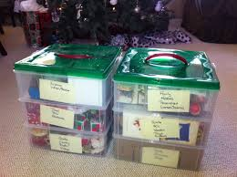 Storage For Christmas Decorations Totally Tidy How I Organized Decades Worth Of Christmas Ornaments