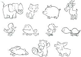 free cute baby animal coloring pages cute baby animal coloring pages symmetry coloring pages zoo animals