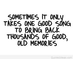Old Quotes Gorgeous Old Memories Song Quote