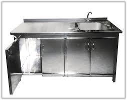 kitchen sinks metal kitchen sink cabinet unit silver rectangle
