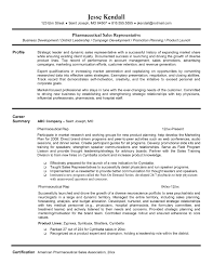 Sales Representative Resume Sample Resume For Entry Level Sales Position New Pharmaceutical 26