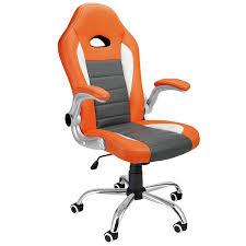 deuba office chair racing design gaming gamers computer desk chair pu leather executive recline padded swivel tilt function ergonomic