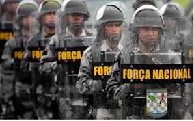 Resultado de imagem para foto da força nacional no RN