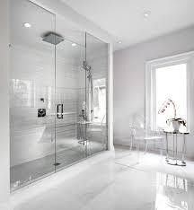 modern white tile floor. The Boulevard Contemporary-bathroom Modern White Tile Floor R
