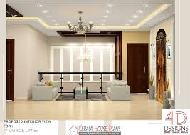 Double Floor Kerala House Design With Interior Photos Kerala - Kerala house interiors