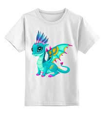 """Детская футболка классическая унисекс """"<b>Дракоша</b>"""" #2655884 от ..."""