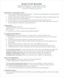 Teaching Assistant Resume Sample Roddyschrock Com