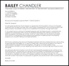 Accounts Payable Accountant Cover Letter Sarahepps Com