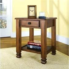 round oak end table small round oak accent table summit mountain free oak table leg extenders