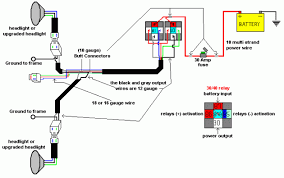 dave s headlight relay upgrade harness relay diagram overall diagram