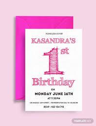 Free Birthday Invitations 47 Birthday Invitation Templates Psd Ai Word Free Premium