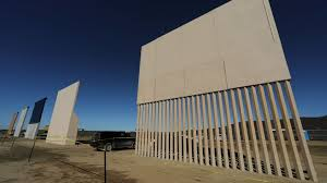 Image result for trump wall prototypes