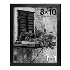 home elements metal picture frame 8 x 10 in assorted black silver1 0 ea