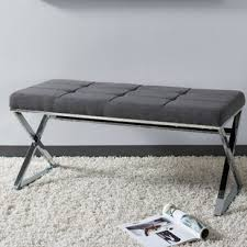 grey tufted bench.  Grey Quickview To Grey Tufted Bench T