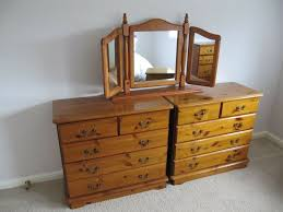 dark pine bedroom furniture in good condition live 8 miles from bristol at cleeve