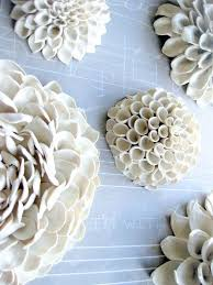 Great for candles veggie and wall decor. Ceramic Flower Wall Art Ideas On Foter