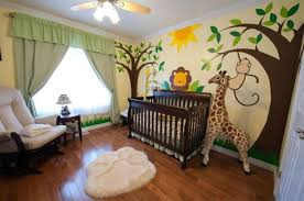 jungle baby room jungle theme nursery