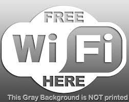 Free Wifi 矢量图亿库素材网