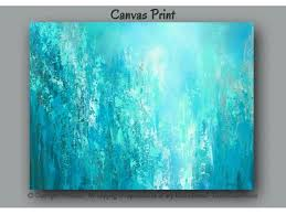 turquoise office decor. Abstract Wall Art, Teal Blue \u0026 Green Canvas Print, And Tan Home Decor,  Bedroom Spa Office Aqua Teal Turquoise Abstract Art Office Decor