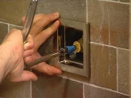 how to install a rain shower head