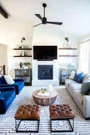 Living Room With Corner Fireplace And Tv Decorating Ideas For Stone Layout.  Living Room Fireplace And Tv Interior Design Decorating Ideas For With  Corner ...