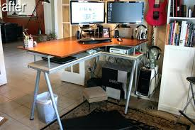 lovely ikea galant desk images stand up and monitor stands table legs adjust