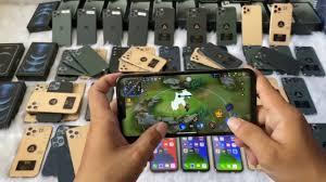 Trải nghiệm chơi game liên quân trên iphone 12 pro max fake loại 1 - YouTube