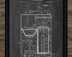 vintage percolator vintage coffee machine patent print 1965 coffee machine illustration coffee making design single print 607 instant