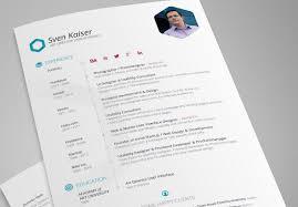 Best Resume Design Templates 40 Best Free Resume Templates For Stunning Best Resume Design