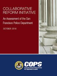 Department Of Justice Report On San Francisco Police