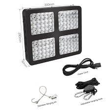 Wishful Led Grow Lights Amazon Com 600w Growing Lamps Full Spectrum With Uv Ir